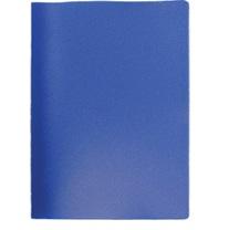 591-005 Папка A4 с 10 вкладышами 350мкм, вкладыши 40мкм, синяя, I-10-04