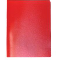 591-010 Папка A4 с боковым прижимом 350мкм, красная, I-901-01