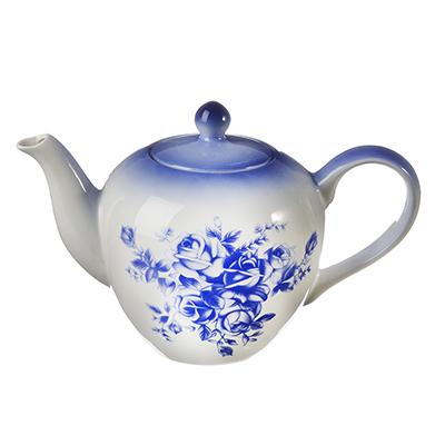 824-859 MILLIMI Народные мотивы Чайник заварочный, 1200мл, керамика