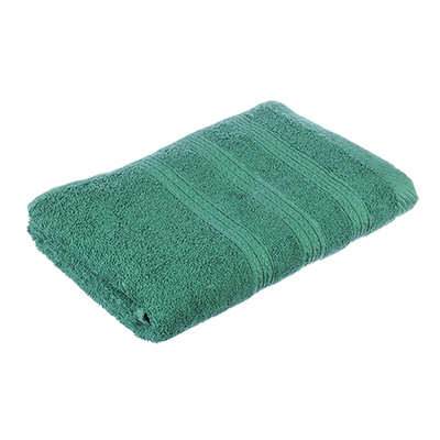 489-080 Полотенце для лица махровое, хлопок, 50х90см, зеленое, VETTA