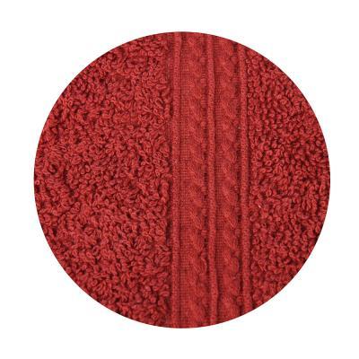 489-081 VETTA Полотенце махровое, 100% хлопок, 50х90см, Колор престиж красное
