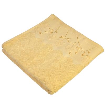 489-085 Полотенце для лица махровое, хлопок, 50х90см, коричневое, VETTA