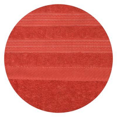 484-772 Полотенце банное махровое красное, 70х140см, VETTA