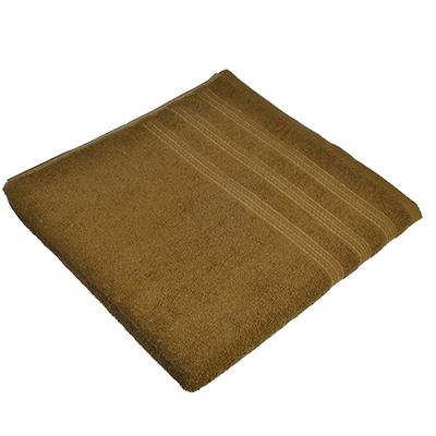 484-774 Полотенце банное махровое коричневое, 70х140см, VETTA