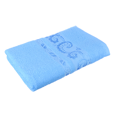 484-775 Полотенце банное махровое голубое, 70х140см, VETTA
