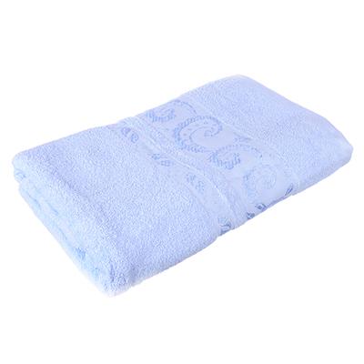 484-776 Полотенце банное махровое голубое, 70х140см, VETTA