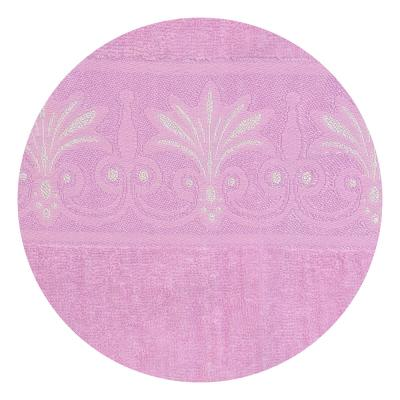 484-778 Полотенце банное махровое розовое, 70х140см, VETTA