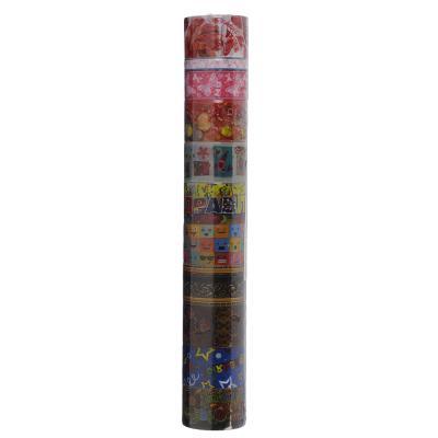 507-822 Клейкая лента, ПВХ, 2х100см, 10 дизайнов