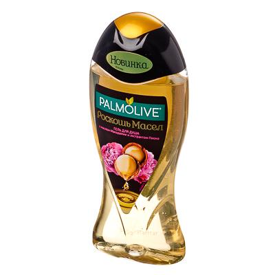 951-048 Гель для душа Palmolive Роскошь масел С маслом Макадамии и экстрактом Пиона 250мл, TB01991A