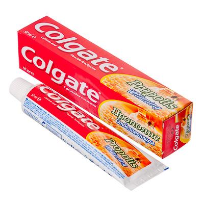 981-040 Зубная паста COLGATE Прополис отбеливающая 50мл, 188189269