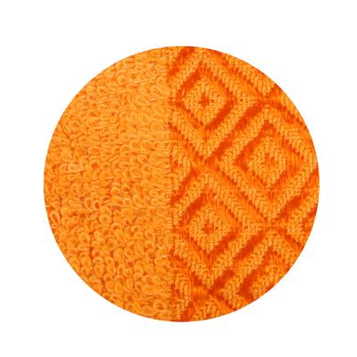 484-785 Полотенце банное махровое, 70х140см, оранжевое
