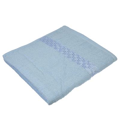 484-788 Полотенце банное махровое, 70х140см, голубое