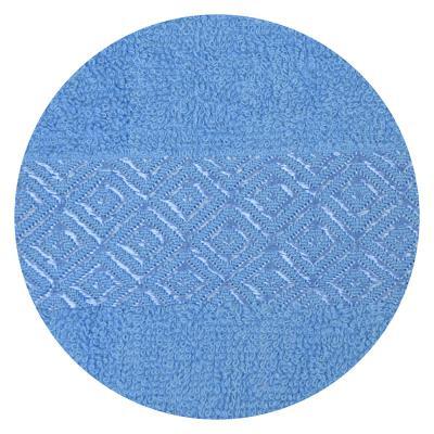 484-790 Полотенце банное махровое, 70х140см, синее