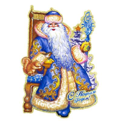 336-220 Панно бумажное СНОУ БУМ 43-47см, 3 дизайна