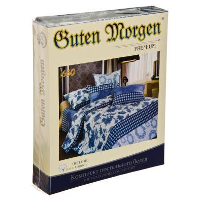 """421-155 Комплект постельного белья евро, поплин, хлопок, """"Гутен Морген"""""""