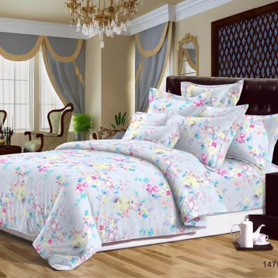 """421-156 Комплект постельного белья 1,5 спальный, сатин, """"Летто"""""""