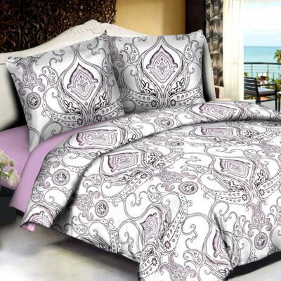 """421-171 Комплект постельного белья евро PROVANCE, полисатин, """"Пандора"""""""