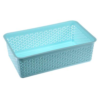 406-111 Корзинка универсальная, пластик, 25,7х15,8х8 см, 2 цвета, Natural Style