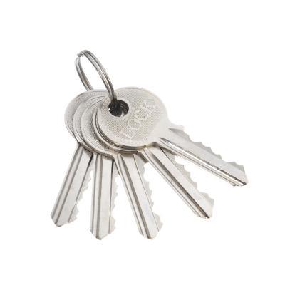 611-146 Замок врезной 0823/60,ключ-ключ, м/о 50мм, золото