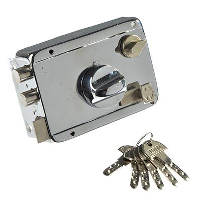 611-152 Замок накладной 600П проф ключ, ключ-вертушка