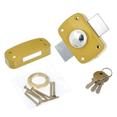 611-153 Замок накладной ЗН-1А, англ. ключ, ключ-вертушка