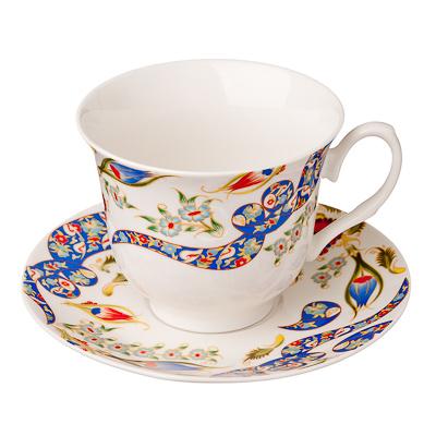821-520 MILLIMI Илона Набор чайный 2 пр., 240мл, костяной фарфор