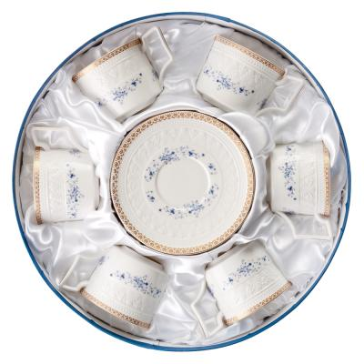 821-567 MILLIMI Джулия Набор чайный 12 пр., 300мл, костяной фарфор