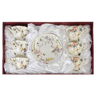 821-609 MILLIMI Луиза Набор чайный 12 пр., 200мл, костяной фарфор