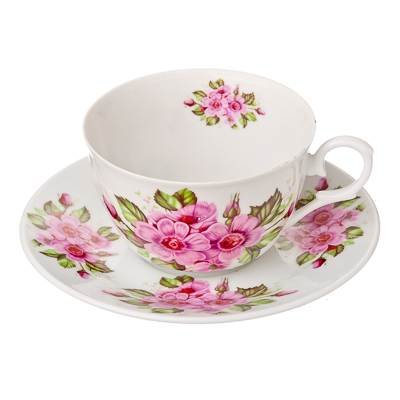 821-639 MILLIMI Надежда Набор чайный 12 пр., 250мл, тнк. фарфор