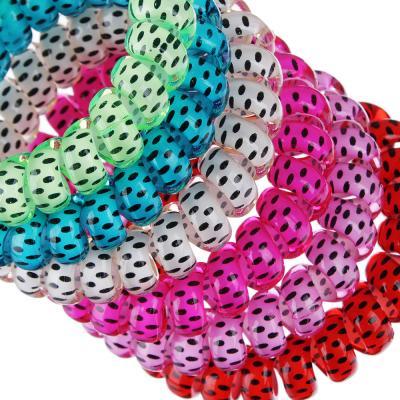 322-147 Набор резинок-спиралек для волос, 6шт., пластик, 5,5 см, 6 цветов, #18