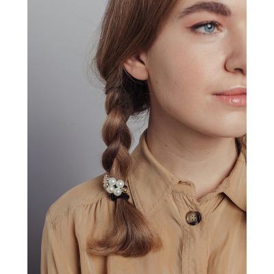 322-161 Резинки для волос BERIOTTI, 2 шт, d.8 см,  4-6 дизайнов