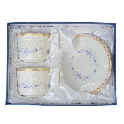 821-679 MILLIMI Джулия Набор чайный 4 пр., 300мл, костяной фарфор