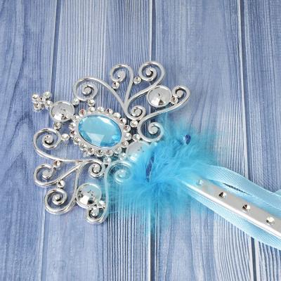 341-091 Волшебная палочка, пластик, полиэстер, 32 см, 4 цвета, СНОУ БУМ