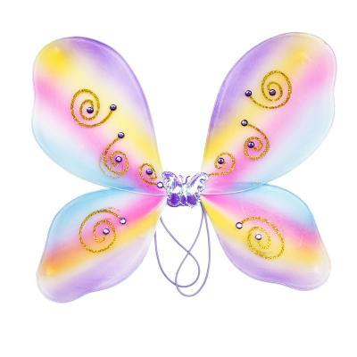 342-070 Костюм карнавальный с крылышками 3 предмета, полиэстер, 36х46 см, 2 дизайна, СНОУ БУМ