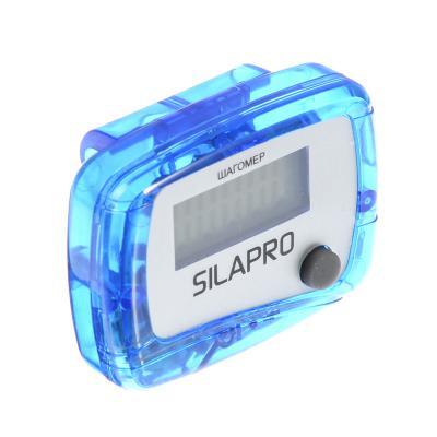 190-001 SILAPRO Шагомер, 4,8х3,7х2,1см, пластик