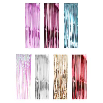 377-317 Дождик СНОУ БУМ 100х9см, ПВХ, матовый, 5 цветов