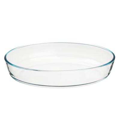 825-006 SATOSHI Формы для запекания жаропрочная овальная, стекло, 30х21х6см, 2л
