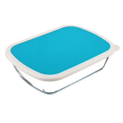 825-007 Форма для запекания/хранения 1.25 л SATOSHI, 23х17,5х6 см, жаропрочное стекло