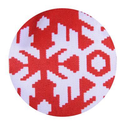 493-040 VETTA Снежинка красная Прихватка-варежка, полиэстер, 27см, дизайн GC
