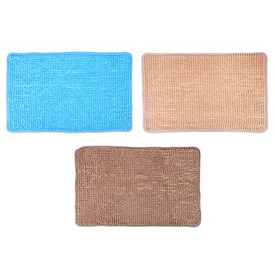 462-630 VETTA Коврик универсальный синель, 0,6см, 40x60см, лапша, 3 цвета