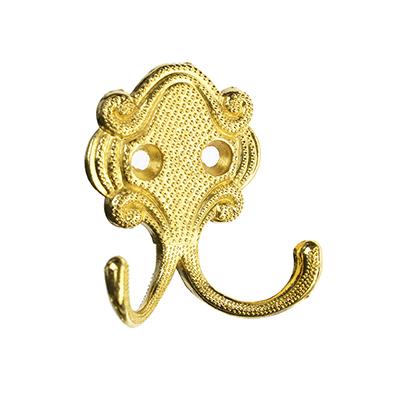 623-408 Крючок КВ-2 (2-х рожковый) золото