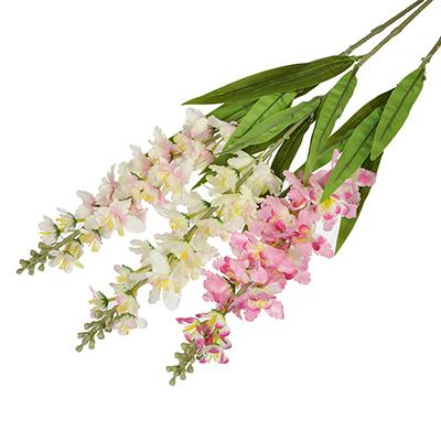 501-514 Цветок искусственный, ветка, 92см, пластик, полиэстер, 3 цвета