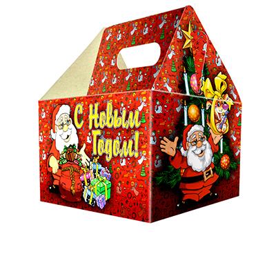 """369-293 Коробка для конфет, 17х12х10см, """"С Новым Годом"""""""