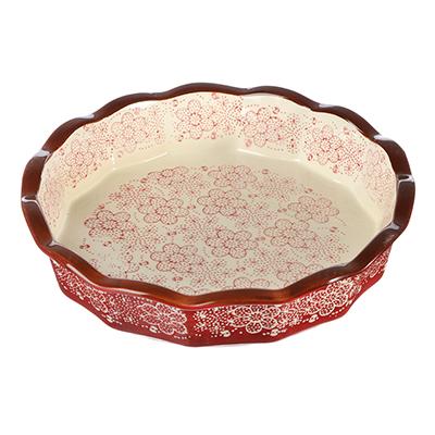 826-245 Форма для запекания и сервировки круглая, керамика, 22х22х4,5 см, MILLIMI