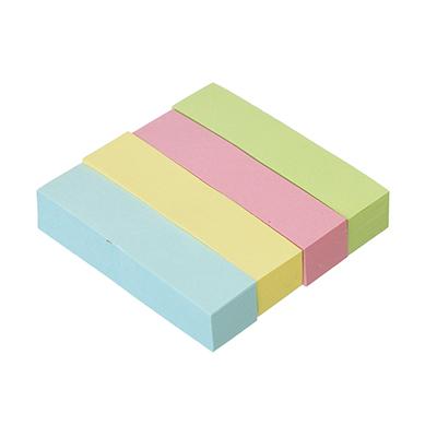 533-016 Закладки с клеевым краем, 4 штуки по 100 листов, 4 цвета