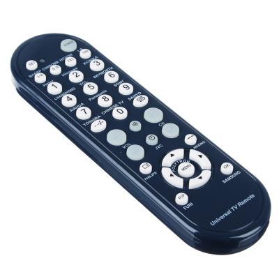 669-201 Пульт телевизионный, универсальный, округлый, блистер