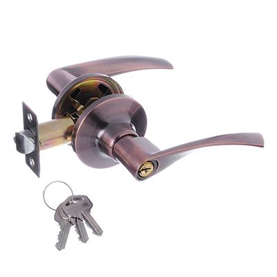 617-243 LARS Замок 0762-01 медь с ключом