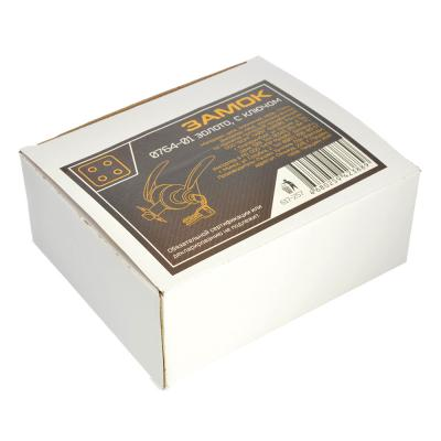 617-257 LARS Замок 0764-01 золото c ключом