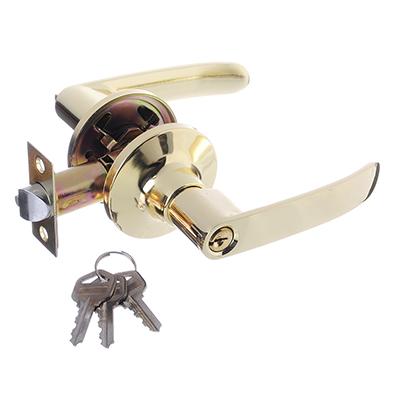 617-279 LARS Замок 8082-01 золото c ключом