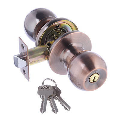 618-096 LARS Замок 6072-01  медь c ключом